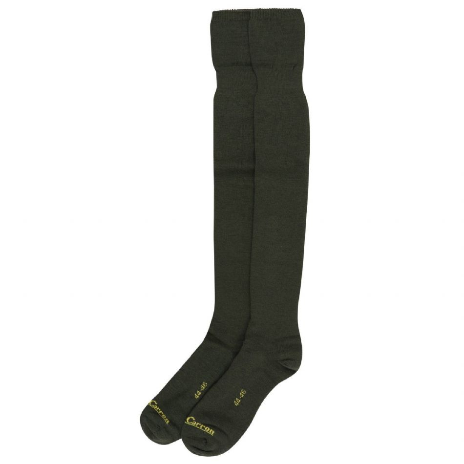 Quality Shooting socks UK 9 + Warm Wool Mix Olive Traditional Hunting Stockings